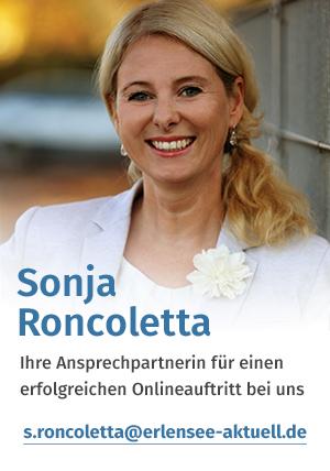 Sonja Roncoletta, Medienberaterin für alle Partner von Erlensee Aktuell.