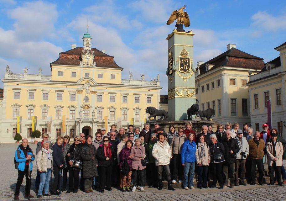 Seniorenausflug der Gemeinde Rodenbach nach Ludwigsburg zur größten Kürbisausstellung der Welt ...