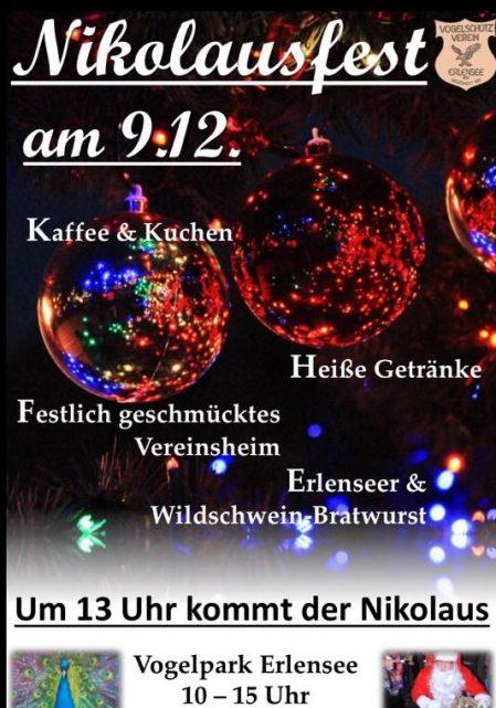 Idyllische Nikolaus Feier Im Vogelpark Erlensee Am 9 Dezember In